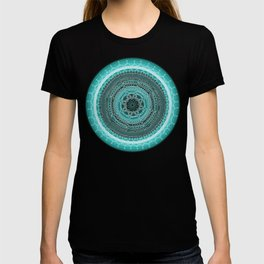 Knowing on Black Background T-shirt