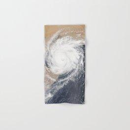 Tropical Cyclone Chapala Over the Gulf of Aden Hand & Bath Towel
