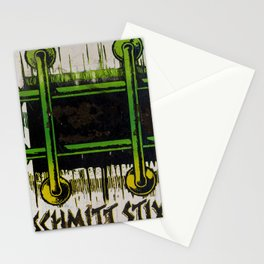 John Lucero, Schmitt Stick, 1986 Stationery Cards