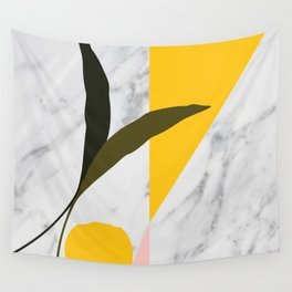 Tropical Marble Wall Tapestry