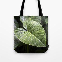 Colocasia Tote Bag
