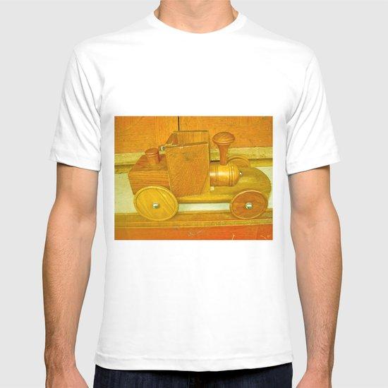 WOODEN CAR T-shirt