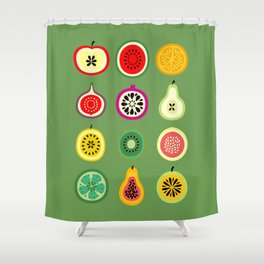 Banca de Frutas Shower Curtain