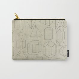 Geometric Crystals Carry-All Pouch