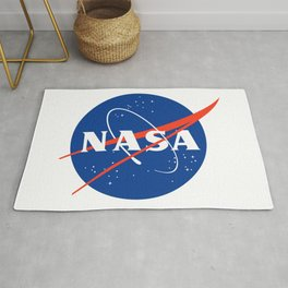 NASA logo Space Agency Astronaut Rug