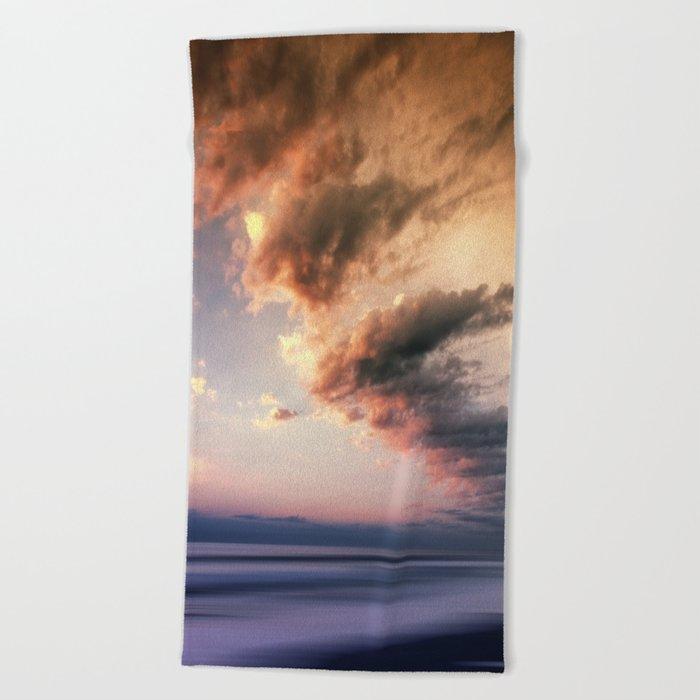 Pastel Waters #ocean Beach Towel