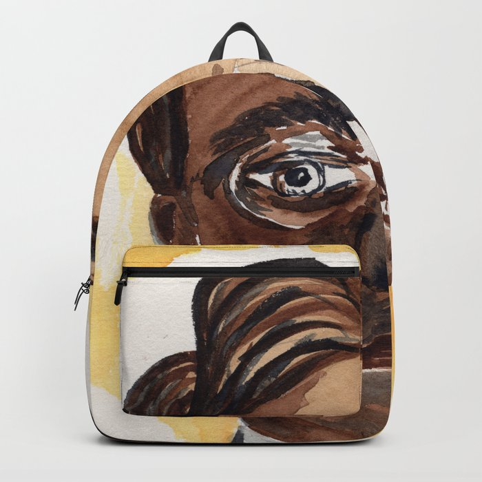 Man with glasses Backpack
