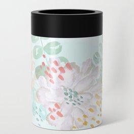 Paint splatter flower Can Cooler
