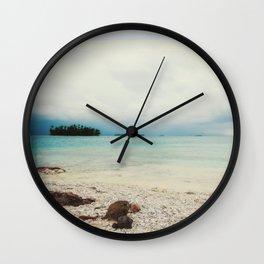 Saltwater Wall Clock