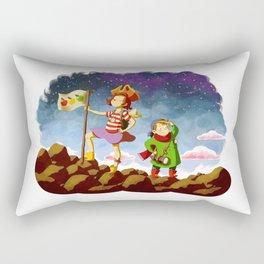 Etienne & Phil - Partons à l'aventure Rectangular Pillow
