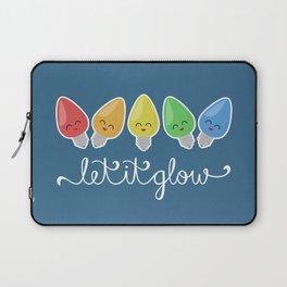 Let It Glow Laptop Sleeve