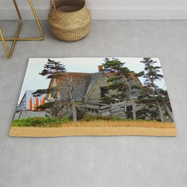 Abandoned Collapsing Homestead Rug