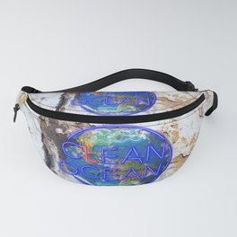 Clean Ocean – Save the Sea Fanny Pack