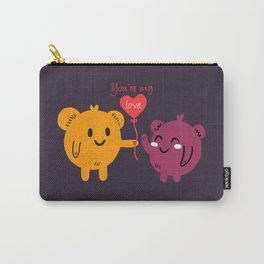 You're My Love Carry-All Pouch