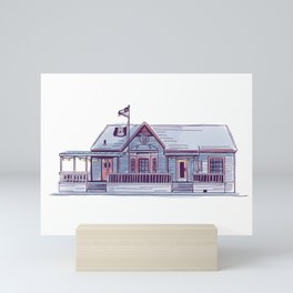 Sneaky Beans Coffeehouse | Fondren Funk Mini Art Print