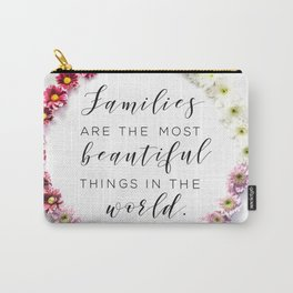 Beautiful Families Carry-All Pouch