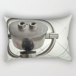 A tourists' view from the Eiffel Tower in Paris, France Rectangular Pillow