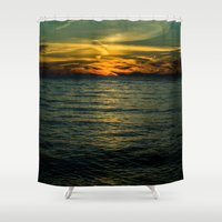 serenity Shower Curtains featuring Serenity by Faded  Photos