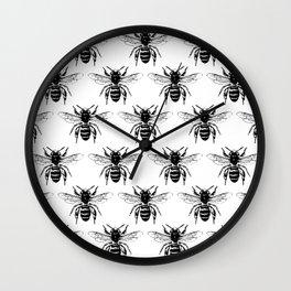 The Bee's Knees Black Wall Clock