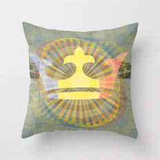 Cha Gheill Throw Pillow