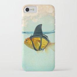 Brilliant Disguise Goldfish iPhone Case