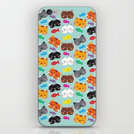 Cats Love Fish I iPhone Skin
