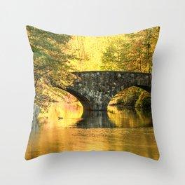 Clove Lake Park Throw Pillow