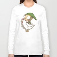 invader zim Long Sleeve T-shirts featuring Invader Link by Legendary Phoenix