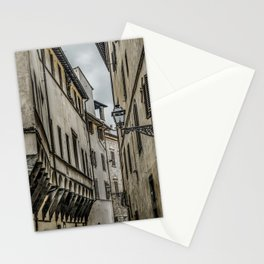 Houses at Historic Center of Florence, Italy Stationery Cards
