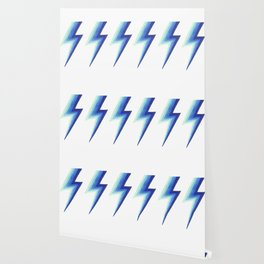Blue Bolts Wallpaper