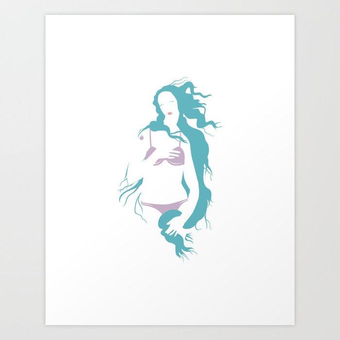 Venus' Secret Art Print