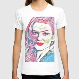 Isla Fisher (Creative Illustration Art) T-shirt