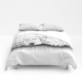 Sleeping Puppy Comforters