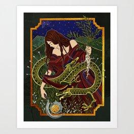 Mandrake Harvest Art Print