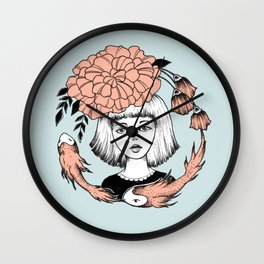 Ink Girl Design - 14.05.17 01 Wall Clock