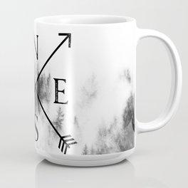 Foggy Forest Compass Coffee Mug