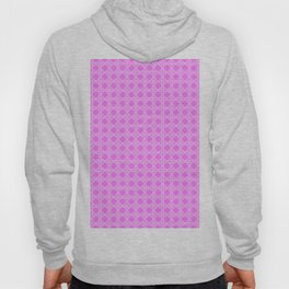 Cane Rattan Lattice in Hot Pink Hoody