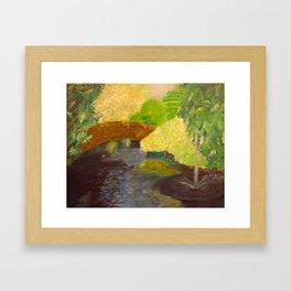 Bridge Landscape Framed Art Print