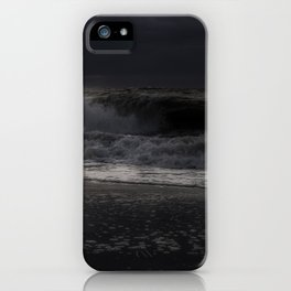 Moody day at Long Beach Island iPhone Case
