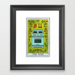 The Oven | Baker's Tarot Framed Art Print
