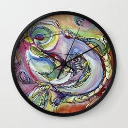 Bird is Figment Wall Clock