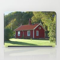 swedish iPad Cases featuring Swedish Cottage  by Sarah Osterman