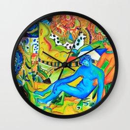 Il conforto dell'artista - the artist's comfort Wall Clock