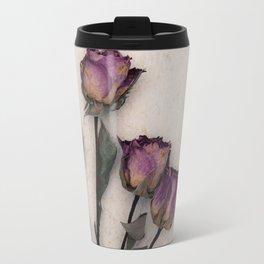 four dried roses Travel Mug