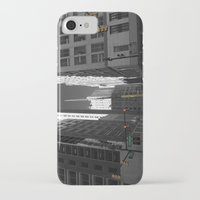 detroit iPhone & iPod Cases featuring Detroit  by Galaxys_Limit