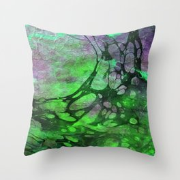 The Painter's Brush :: Partial Corruption Throw Pillow