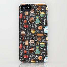 Bake Love Pattern iPhone Case