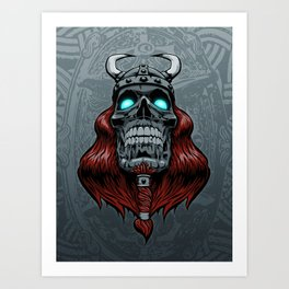 Valhalla Awaits Art Print