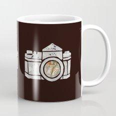 White Camera Mug
