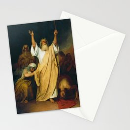 Moses Praying Stationery Cards